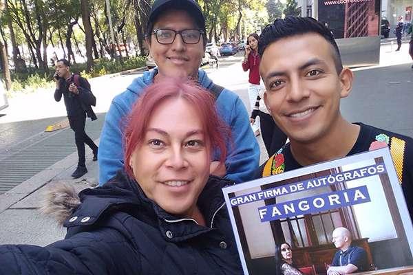 Fangoria es una banda de música electrónica de Madrid, España que se formó 1989 y está formada por Alaska y Nacho Canut. Foto: @FangoticosMX