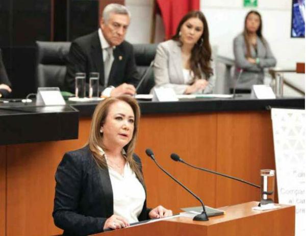 PRIMERA COMPARECENCIA. Yasmín Esquivel ofreció imparcialidad y autonomía de llegar a la Suprema Corte. Foto: Especial
