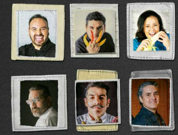 Chefs con personalidad.  Foto: Nayeli Cruz
