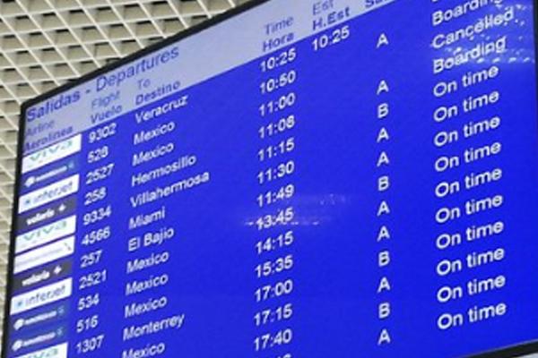 Interjet cancela 17 vuelos este sábado en el AICM