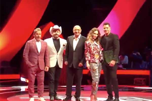 Yahir, Belinda, Lupillo Rivera y Ricardo Montaner se enfrentarán para quedarse con las mejores voces .FOTO: ESPECIAL