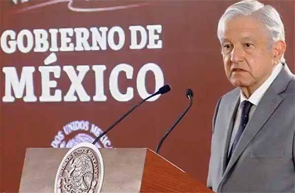 El presidente de México, Andrés Manuel López Obrador, aseguró que las acusaciones del Partido Acción Nacional (PAN) contra el senador Napoleón Gómez Urrutia son asuntos partidistas.FOTO: ESPECIAL