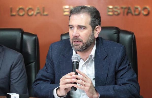 Córdova Vianello señaló que a pesar del proceso extraordinario de Puebla, los ciudadanos muestran voluntad para participar. Foto: Especial