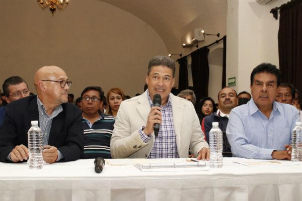 Su militancia política en el PRD, no le impedía ser magistrado del Tribunal Superior de Justicia. Foto: Jesús Lemus