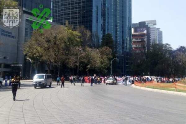 Las autoridades pidieron a los automovilistas tomar precauciones. Foto: @OVIALCDMX