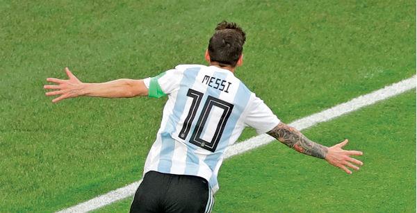 Argentina jugará dos amistosos el 22 y 26 de marzo. Foto: AP