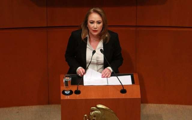 Tras ser nombrada, Yasmín Esquivel rindió protesta en el encargo de ministra de la Suprema Corte de Justicia de la Nación, cargo que ocupará durante los próximos 15 años