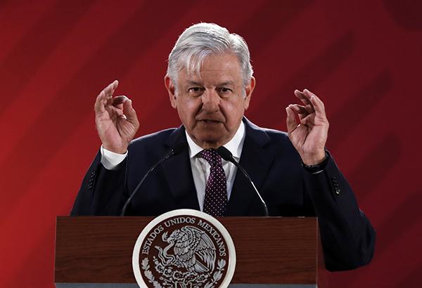 El presidente señaló que ahora el país tiene un buen gobierno, a pesar de que esto no le guste a sus adversarios. FOTO: NOTIMEX