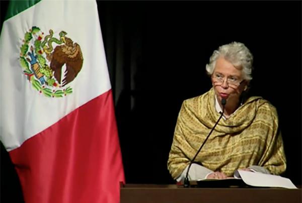 Olga Sánchez comentó que se debe hacer efectiva la reparación de daños y garantizar que este caso no se repetirá en el país.