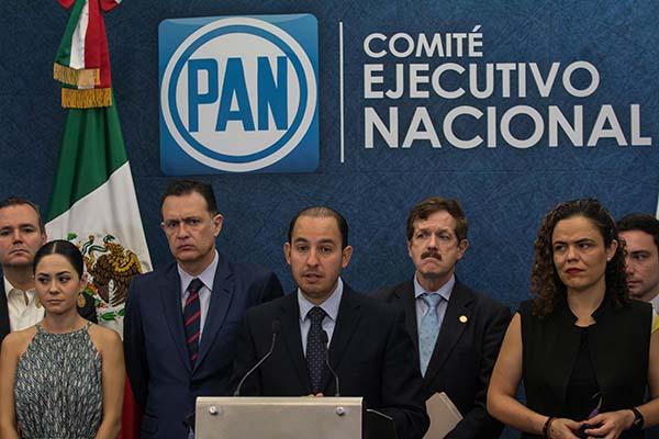 Marko Cortés, presidente del Partido Acción Nacional. FOTO: CUARTOSCURO