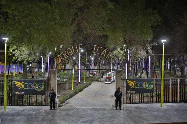 El parque se ubica en la colonia Cuchilla Pantitlán. Foto: Especial