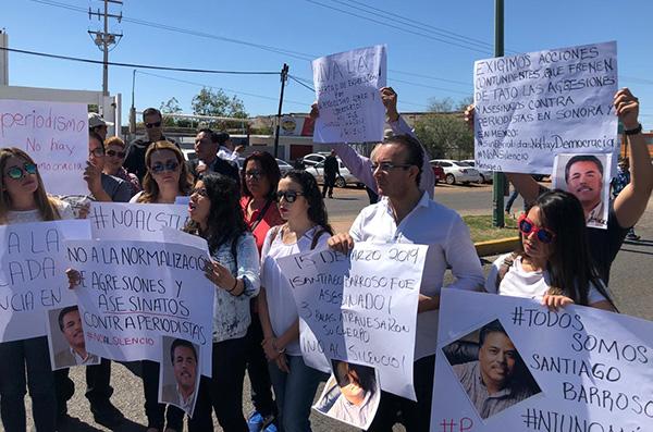 En lo que va de la administración de Andrés Manuel López Obrador se han registrado cuatro casos de amenazas y agresiones contra periodistas en Sinaloa