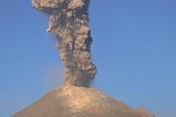 Actividad del Popocatépetl: Reporte en tiempo real
