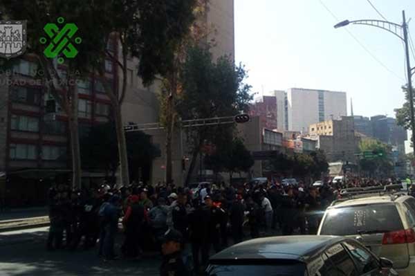 Este lunes diversas movilizaciones sociales ocasionan problemas viales en diferentes puntos de Ciudad de México. FOTO: OVIAL