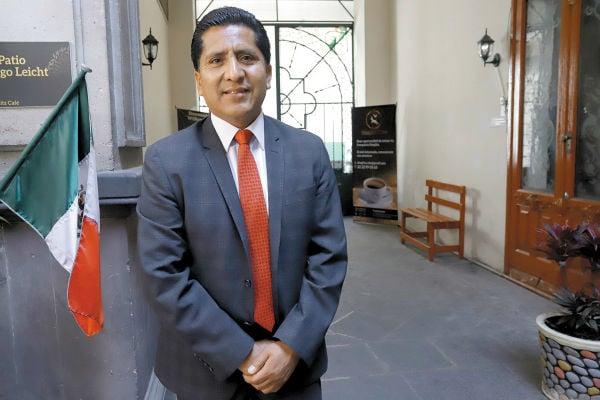 Raymundo Atanacio (PT) participó en la conferencia. Foto: Enfoque