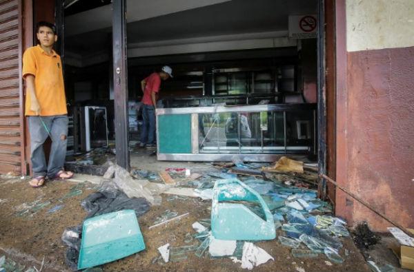 Maracaibo y Zuila son los estados con más reportes de saqueos a comercios.FOTO: REUTERS
