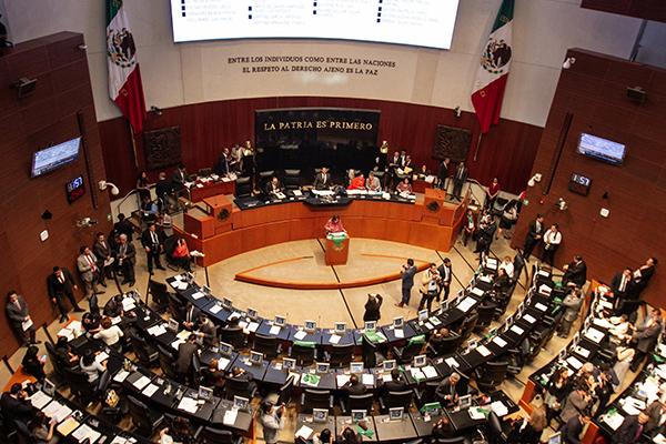 La terna está integrada por Yasmín Esquivel Mossa, Celia Maya García y Loretta Ortiz Ahlf. FOTO: NOTIMEX