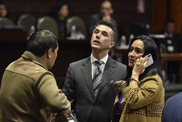 El legislador precisó que coincide plenamente con el presidente de la República, Andrés Manuel López Obrador, en que el Gobierno Federal mantenga una disciplina del gasto público.  FOTO: CUARTOSCURO