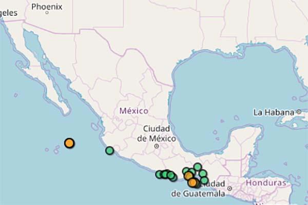 El último sismo registrado en el reporte del SSN fue en Cabo San Lucas, Baja California Sur, en donde las 7:58 horas se sintió un temblor de 4.5 grados. Foto: Especial