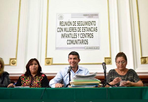 También presentará la ley de educación temprana infantil. Foto: @mauriciotabe