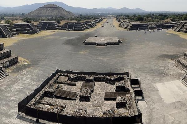Teotihuacán ha sido visitada en lo que va del año por más de 340 mil turistas. FOTO: ESPECIAL