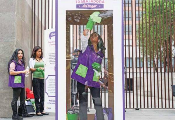 VISIBLES Colectivos de mujeres han promovido el respeto a sus derechos. Foto: Cuartoscuro
