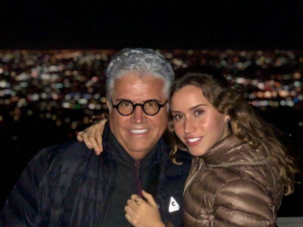 Cristina recibirá un homenaje por parte de Cristóbal Reyes y su hija Nazaret Reyes. Foto: Cortesía
