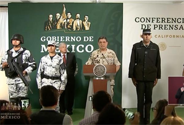 Los uniformes serán fabricados por el Gobierno Federal y solo la materia prima será adquirida en otros lados.
