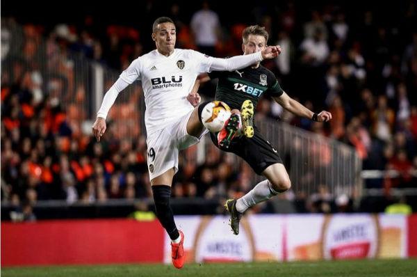 El partido de vuelta entre el Krasnodar y el Valencia será el próximo 14 de marzo. Foto: EFE