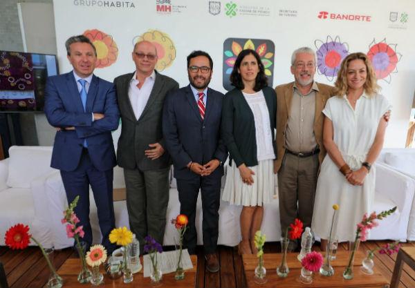 El alcalde Víctor Hugo romo y Carlos Mackinlay explicaron que este Festival es organizado para fomentar en la población el cuidado y respeto al medio ambiente