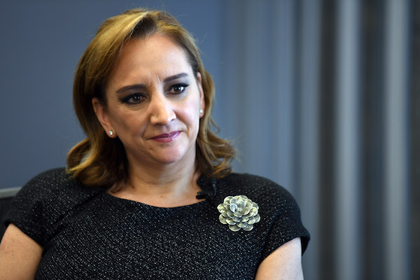 Claudia Ruiz Massieu,