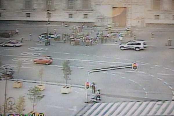 Las autoridades pidieron a los automovilistas tomar sus precauciones. Foto: Ovial