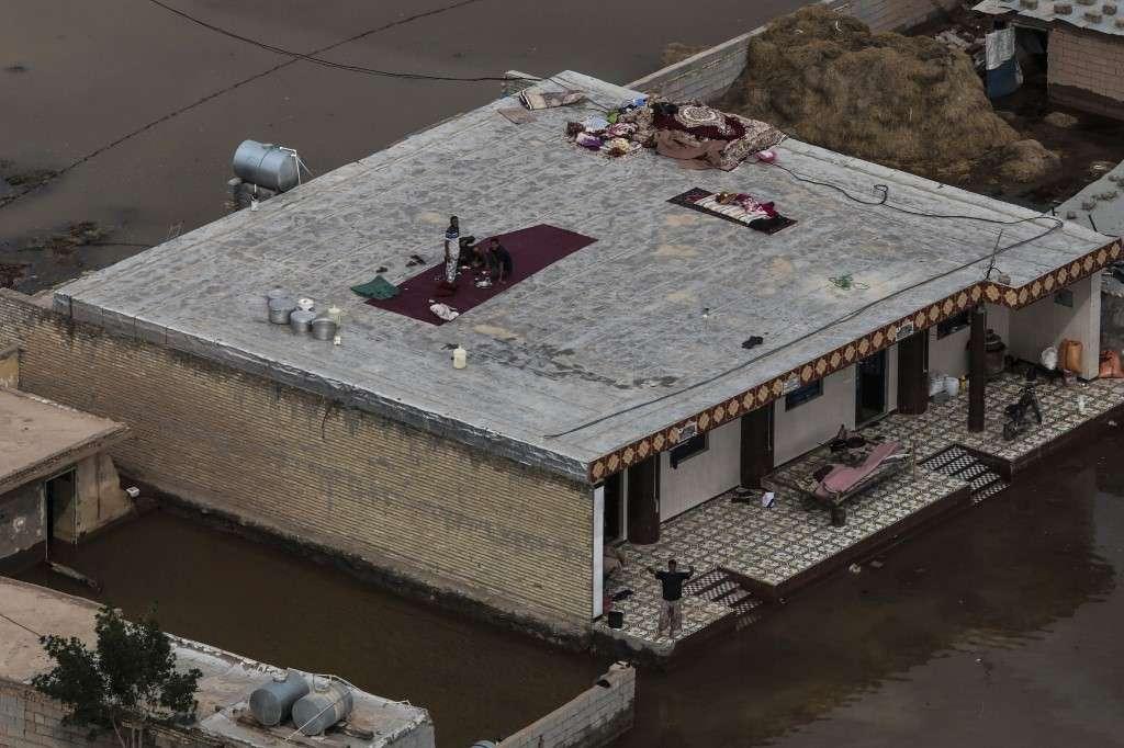 La provincia de Juzestán ha sido azotada por fuertes lluvias desde hace tres semanas. Foto: AFP
