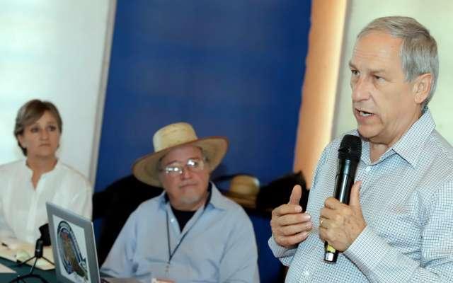 Cárdenas Sánchez acudió al Museo del Agua ubicado en Tehuacán, para presentar su propuesta de mejora. Foto: Enfoque