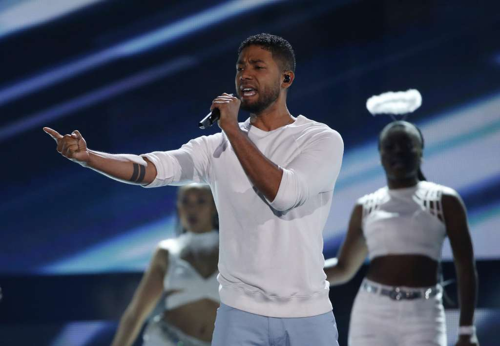 Jussie Smollet en los Teen Choice Awards