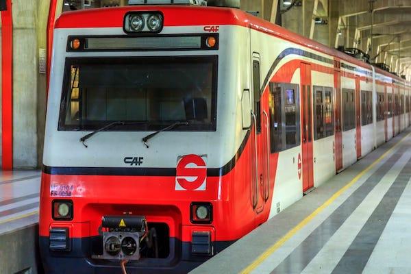 El Tren Suburbano conecta a la capital del país con el Estado de México. Foto: Especial