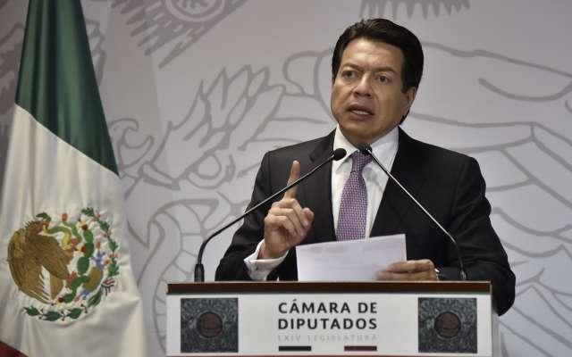 El morenista detalló que este miércoles se discutirá el dictamen de la Reforma Educativa en la Cámara de Diputados. Foto: Cuartoscuro