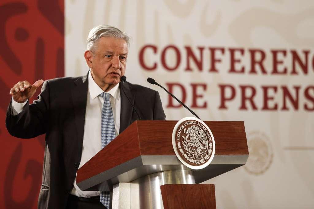 Queremos mantener una relación amistosa con Estados Unidos, aseguró el mandatario mexicano. Foto: Notimex