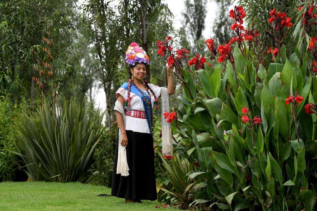 Este 14 de abril, Abigaíl coronará a quien será la sucederá como representante de Xochimilco. Foto: Pablo Salazar