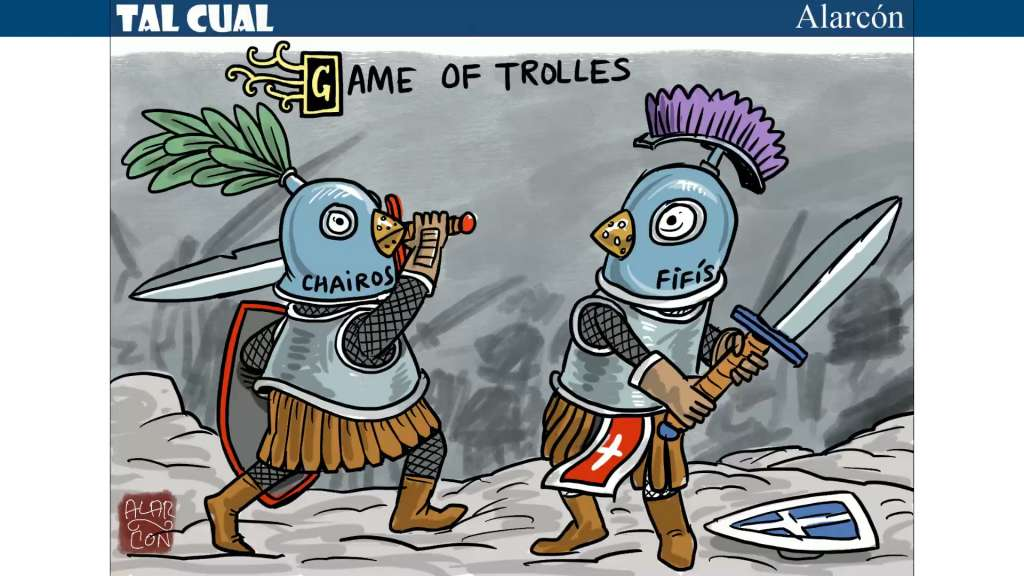 Tal Cual: Game Of Trolles