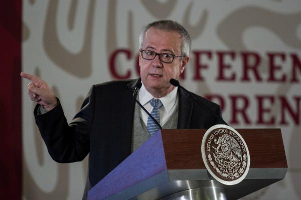 Carlos Urzúa, secretario de Hacienda ha defendido que México crecerá un 4% al final del sexenio FOTO: Cuartoscuro