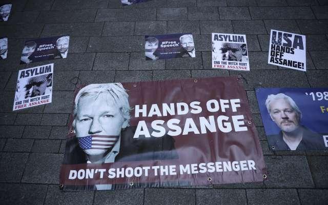 Ciudadanos, defensores y periodistas han exigido la liberación del activista y fundador de WikiLeaks. Foto: AP