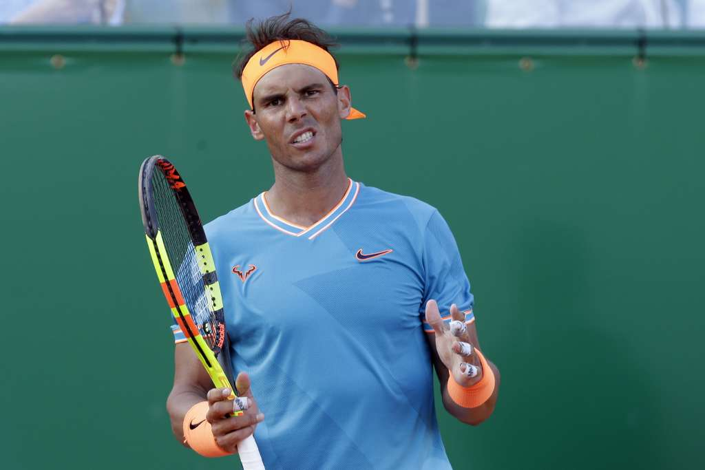 El tenista español buscaba su doceavo título en el torneo de Montecarlo. Foto: AP