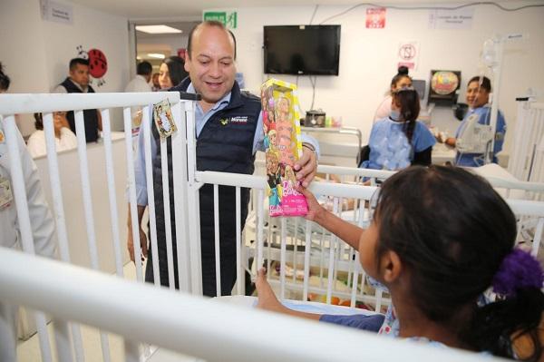 A este hospital acuden niños de toda la Ciudad de México, aunque el 50% de los pacientes son de otros estados, como Oaxaca, Chiapas, Estado de México, Tabasco. Foto: Especial