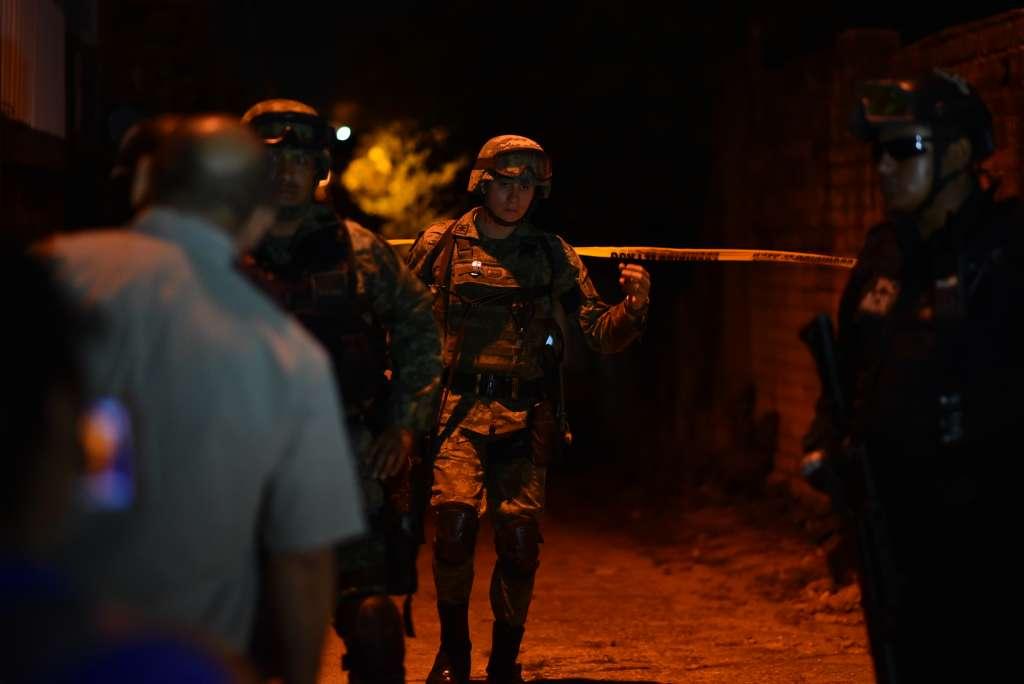 El ataque armado cobró la vida de 14 personas, entre ellos un niño de un año. Foto: Cuartoscuro
