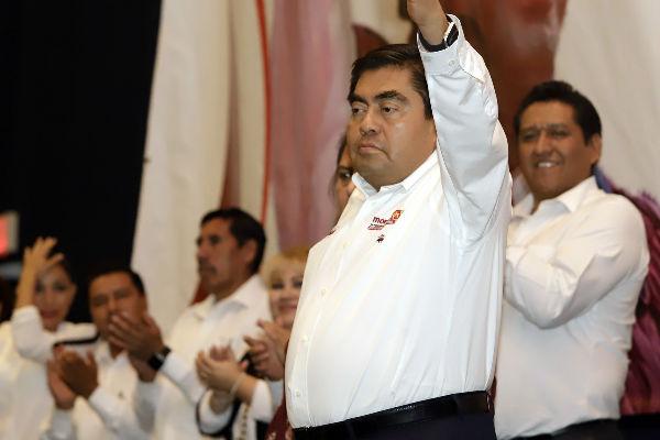 Miguel Barbosa, candidato a la gubernatura de Puebla Foto:Cuartoscuro