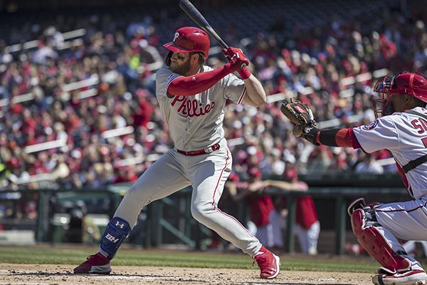 Harper se fue de Washington después de jugar 927 juegos. FOTO: AFP