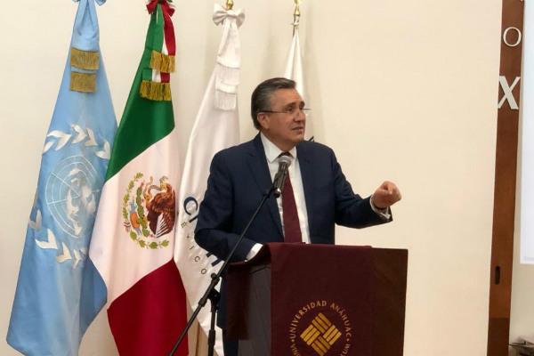 """""""Hago un exhorto a la Cancillería, para que, con independencia de las decisiones de jueces, muestre una voluntad propia de gobierno, dado que es un problema, las desapariciones es el principal problema que tiene México en términos de violencia"""