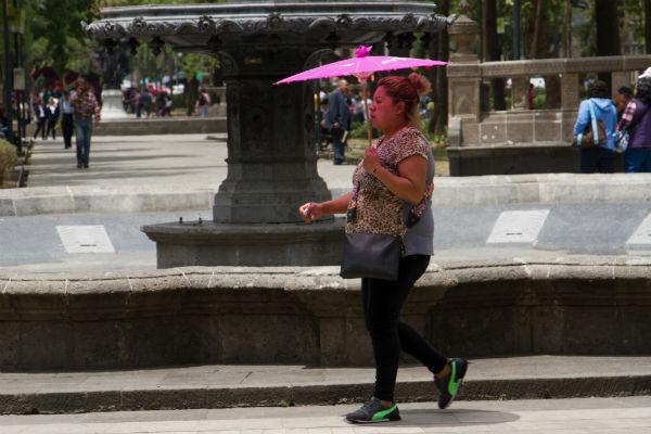 Por segunda ocasión marzo ha sido el mes más cálido en 139 años . Foto: Cuartoscuro