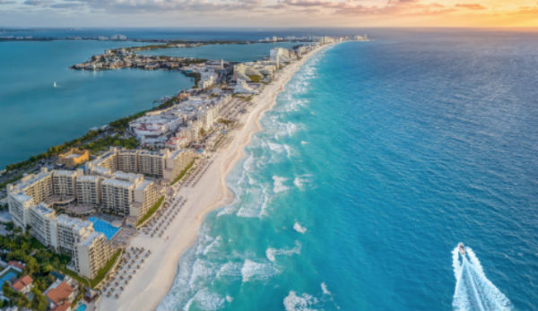 Para los próximos cuatro días Cancún espera clima mayor mente soleado.FOTO:ESPECIAL
